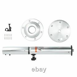 2228in Table Pedestal Height Adjustable With Mount Base For RV Yacht