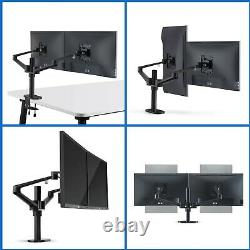 4 arm height adjustable monitor/laptop/ipad stand riser mount monitor arm NEW
