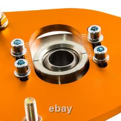 Adjustable Camber Plate Top Mount for Subaru Forester 2003-2008 SG Coil Kit