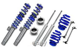 Adjustable Coilover Kit For BMW E46 3 Series + End Links + Top Mounts JOM