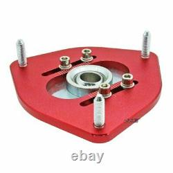 Adjustable Top Mount Front Camber Plate Fit Corolla Levin AE101 AE111