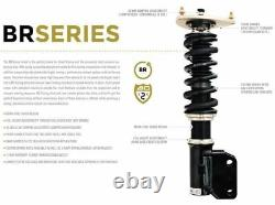 BC Racing For 15-17 BMW M3 M4 5 Bolt Top Mount BR Type Adjustable Coilover Kit