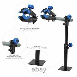 Bike Repair Stand Wall Mount Rack Bicycle Height Adjust Clamp Climb Workstand