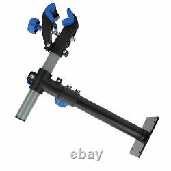 Bike Repair Stand Wall Mount Rack Bicycle Height Adjustable Clamp Workstand Tool