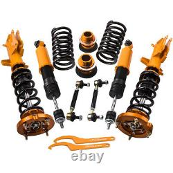 Coilovers Damper Kits for Ford Mustang 2005-2014 Adjustable Height Mounts Struts