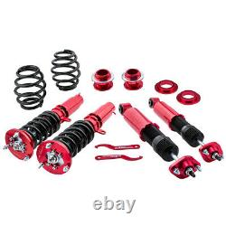 Coilovers Suspension Strut for BMW E46 3 Series 98-06 Adjustable Height+Mounts