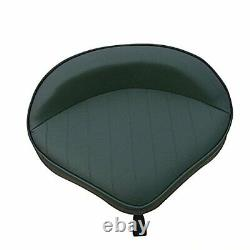 Durable 360° Swivel Boat Seat with Adjustable Height Pedestal Seat Mount