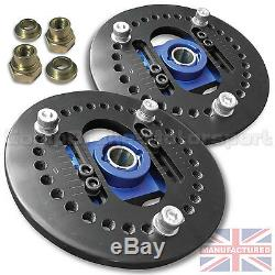 FITS TRIUMPH TR7 Fully Adjustable Camber Top Mounts CMB4501