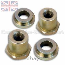 Fits Bmw Mini Early Adjustable Front Suspension Top Mount Black (pair)