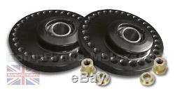 Fits Renault 5 Gt Turbo Fully Adjustable Suspension Top Mounts (pair) Cmb0244