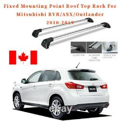 Fixed Mounting Point Roof Top Rack For Mitsubishi RVR/ASX/Outlander 2010-2019