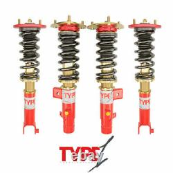 For 13-16 Honda Accord Function and Form Type 1 Height Adjustable Coilovers Kit