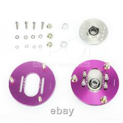 For BMW E36 318i 323i 325i 328i Front Adjustable Coilover Camber Plate Top Mount