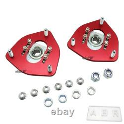 Front Adjustable Top Coilover Camber Plate Mount Fits Silvia-S13-S14-S15