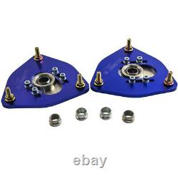 Front Coilover Camber Plate fits For SUBARU IMPREZA Forester 2002 2007 Top Mount
