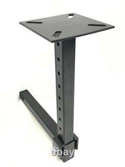 Hitch Mount Vise Plate Holder Adjustable Height Heavy Duty fits 2 x 2 Receiver