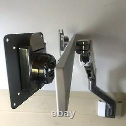 Humanscale M8 Monitor Arm with Height Adjustable SlatWall Mount, Wall Fitted