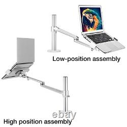 Laptop/Notebook/Projector Mount Stand, Height Adjustable Single Arm Mount inch