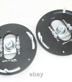 MINI Cooper F56 Silver Project Adjustable Top Mount Camber Plates