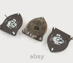 MINI Cooper R50 R52 R53 Silver Project Adjustable Top Mount Camber Plates