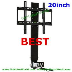 Motorized Tv Mount Lift With Remote Control Height Adjustable free shipping