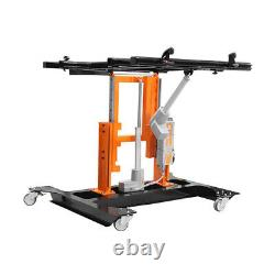 Powered Tilting & Height Adjustable Control Panel Mounting & Assembly Table