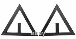 ProX Cases X-MS12 Pair of Heavy Duty Studio Monitor Stands with Adjustable Height