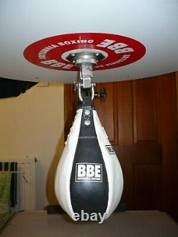 Speed Ball Wall Mounted Platform Height Adjustable Boxing Punchbag MMA Training