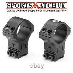 Sportsmatch ATP66 30mm Height Windage Adjustable Scope Mounts Rings Falcon X50