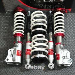 TRUHART STREET PLUS HEIGHT ADJUST COILOVERS withTOP MOUNT HAT 06-11 HONDA CIVIC