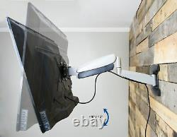 TV Height Adjustable Gas Spring Wall Mount for 23 to 55 LCD LED Plasma Screen