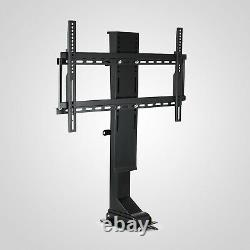 TV Mount Lift for 37 65 TVs Height Adjustable with Remote Controller