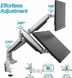 Avlt Dual 32 Monitor Mount 2 Height Adjustable Gas Spring Riser 19.8 Lbs Avlt Dual 32 Monitor Mount 2 Height Adjustable Gas Spring Riser 19.8 Lbs Avlt Dual 32 Monitor Mount 2 Height Adjustable Gas Spring Riser 19.8 Lbs Avlt