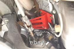 Bmr Suspension Motor Mount Bracket Red Réglable Height For 05-18 Ford Mustang