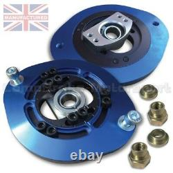 Convient À Vauxhall Astra Mk1 Fully Adjustable Front Suspension Top Mount (paire)