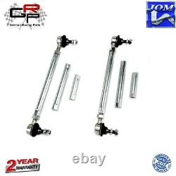 Jom Ajustable Coilover Kit Pour Bmw E46 (1998-2007) + Hd End Links & 4 Top Mount